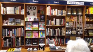 Bücherpräsentation der OIO Books bei Thalia Augsburg